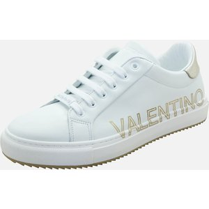 Valentino Shoes Women's Leather Low Top Trainers - White/gold - Uk 6 91190741 010 General Clothing, White