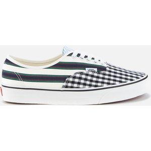 Vans Men's Prep Retro Authentic Trainers - Blanc De Blanc - Uk 9 Vn0a348a40f Mens Footwear, Blue