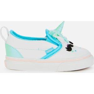 Vans Toddlers' Unicorn Slip-on Trainer - Blue Atol - Uk 5 Toddler Vn0a5hfr3ws1 Mens Footwear, Blue