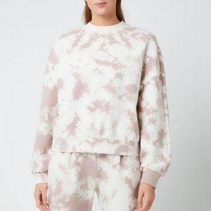 Varley Women's Erwin Sweatshirt - Taupe Tie Dye - M Var00723 General Clothing, Grey