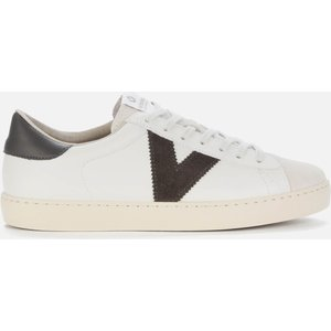 Victoria Women's Berlin Sustainable Cupsole Trainers - Anthracita - Uk 8 1126142 Mens Footwear, White