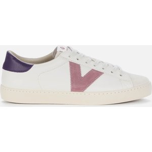Victoria Women's Berlin Sustainable Cupsole Trainers - Lila - Uk 7 1126142 Mens Footwear, White