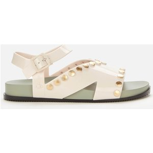 Vivienne Westwood For Melissa Women's Ciao Sandals - Ivory - Uk 7 32969 50937 Mens Footwear, White