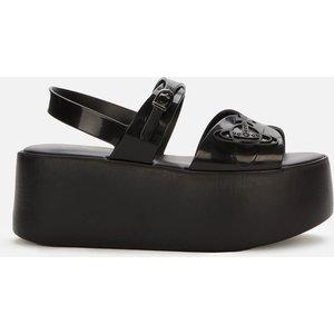 Vivienne Westwood For Melissa Women's Connect Platform Sandals - Black - Uk 6 32968 50481 Mens Footwear, Black
