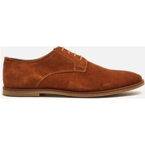 Walk London Men's Danny Suede Derby Shoes - Tan - Uk 11 18941 Mens Footwear, Tan