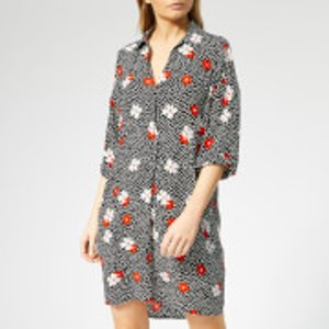 Whistles Women's Lola Confetti Floral Print Dress - Black/multi - Xs - Black Dt50129505 Womens Dresses & Skirts, Black