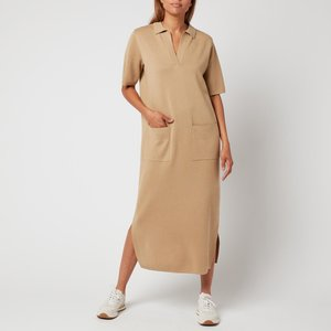 Whistles Women's Polo Neck Knitted Dress - Camel - S Kf556 32758 Womens Dresses & Skirts, Camel