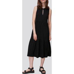 Whistles Women's Tiered Jersey Dress - Black - Uk 6 De890 31964 Womens Dresses & Skirts, Black