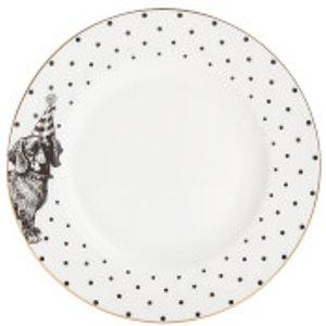 Yvonne Ellen Party Pup Side Plate - White 22.001.003 Kitchen, White