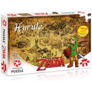 500 Piece Jigsaw Puzzle - Zelda Hyrule Field Edition 29490 Games, Puzzles & Learning
