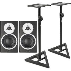Dynaudio Bm5 Mkiii Near-field Monitors Pair With Stands Dyn bm5iii Stands