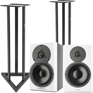 Dynaudio Lyd-5 Near-field Studio Monitor With Stands Pair Dyn Lyd5 Pair
