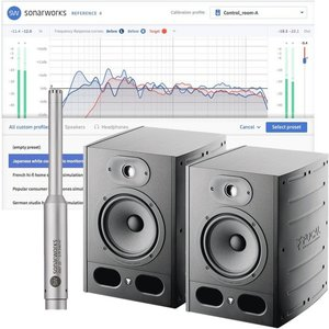 Focal Alpha 65 Monitors With Sonarworks Reference 4 Studio And Mic Fo Alpha65 Sonar