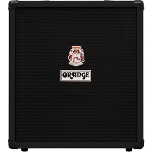 Orange Amps Orange Crush Bass 50 Combo Black Os Crush Bass 50 Blk