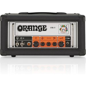 Orange Amps Orange Or15 Head Black Or 15 H Blk
