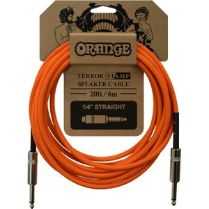 Orange Amps Orange Terror Stamp 20ft Speaker Cable Jack - Jack Orange Ca041
