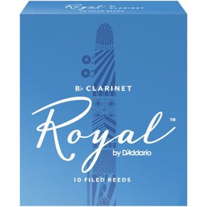 Rico Royal By Daddario Eb Clarinet Reeds 3.5 (10 Pack) Rbb1035