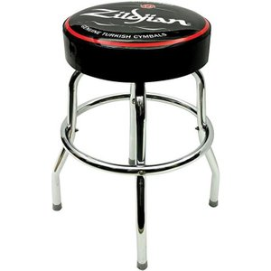 Zildjian 30 Bar Stool Black With White Logo T3403