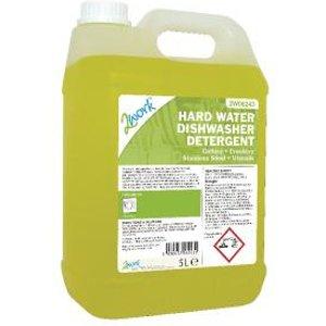 2work Hard Water Dishwasher Detergent 5 Litre 303 2w06243 Office Supplies