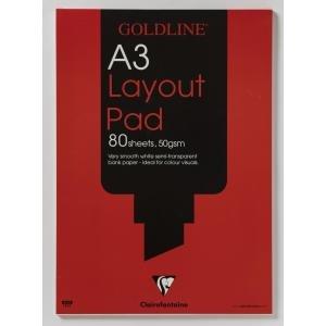 Goldline Layout Pad A3 Exr65657ex Office Supplies