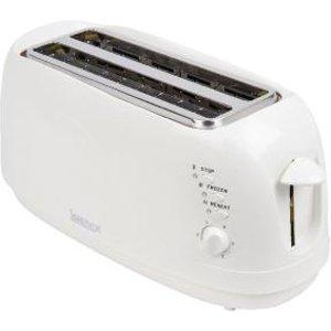 Igenix 4 Slice Long Toaster 149527 Ig3020 Pik01839 Office Supplies