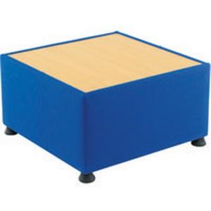 Initiative Modular Reception Coffee Table Blue Ds2896 Office Supplies