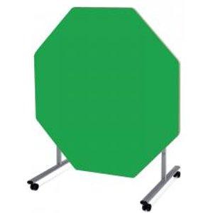Metalliform Octagonal Tilt Top Steelfolding Dining Table 1200 X 1200 X He48838673b Office Supplies