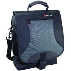 Monolith Multifunctional Nylon Laptop Backpack Black And Grey 2399 Hm23990 Office Supplies