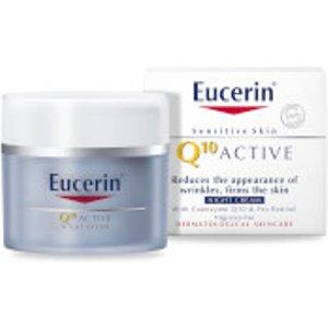 Eucerin® Sensitive Skin Q10 Active Anti-wrinkle Night Cream (50ml) 63416 09900 11
