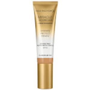 Max Factor Miracle Touch Second Skin 30ml (various Shades) - Medium/tan 99350038120, Medium/Tan