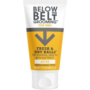 Below The Belt Grooming Fresh & Dry Balls Active 75ml 0101818