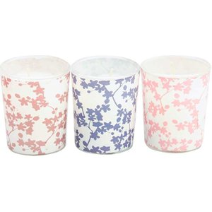 Candlelight Japanese Blossom Scented Candle Set 0105863