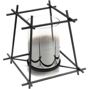 Cello Cube Metal Candle Holder Large 0103430