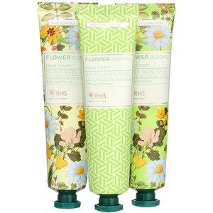 Heathcote & Ivory Rhs Daisy Garland Hand Creams X 3 0106216