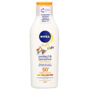 Nivea Sun Kids Protect & Sensitive Sun Lotion Spf50 200ml 0111678