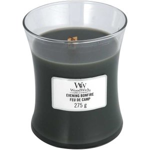 Woodwick Evening Bonfire Medium Jar Candle 275g 0104956
