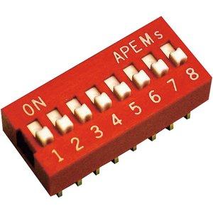 Apem Ds-04 Standard Dip Switch 4 Pole