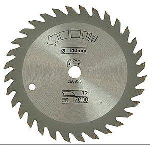 Black+decker X13005 Circular Saw Blade 140 X 12.7mm X 32t Fine Cro...