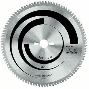 Bosch 2608640449 Mitre/table Saw Blade Multi-material 254 X 30 X 3...