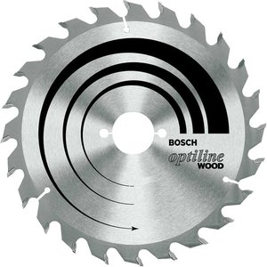 Bosch 2608640612 Circular Saw Blade Optiline Wood 190x20/16x2.6mm ...