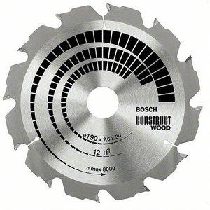 Bosch 2608640633 Circular Saw Blade Construct Wood 190x30x2.6mm 12...