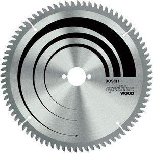 Bosch 2608640641 Mitre Saw Blade Optiline For Wood 216 X 30 X 2.8m...