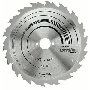 Bosch 2608640787 Circular Saw Blade Wood Speedline 160x20x2.4mm 18...