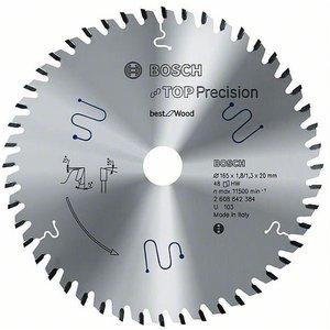 Bosch 2608642388 Circular Saw Blade Tct Multi-material 165x20x1.8m...