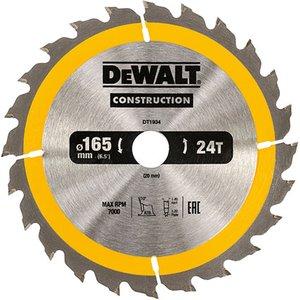 Dewalt Dt1934-qz Portable Construction Circular Saw Blade 165 X 20...