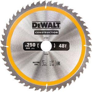 Dewalt Dt1957-qz Stationary Construction Circular Saw Blade 250 X ...