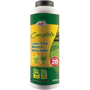 Doff F-lm-030-dof-02 Complete Lawn Feed, Weed & Moss Killer 1kg