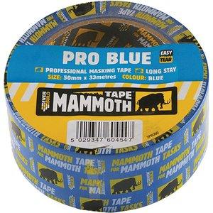Everbuild 2pro50 Pro Blue Masking Tape 50mm X 33m