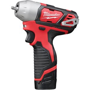 Milwaukee M12 Biw14-202c Sub Compact 1/4in Impact Wrench 12v 2 X 2... 4933443897