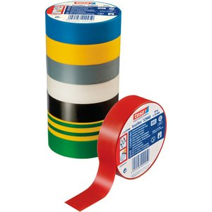 Tesa 53948 Tesaflex Pvc Electrical Insulation Tape 19mm X 25m - White 53948 00034 15